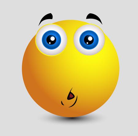 Sacudida Eléctrica Triste Emoji Sonriente Del Emoticon ...