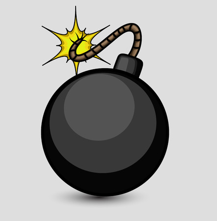 Vector Bomb Illustration