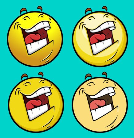 loudly: Laughing Emoji Smiley Emoticon Illustration
