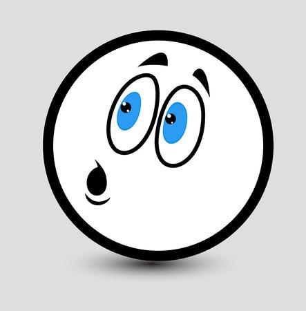 Wondering Face Emoticon