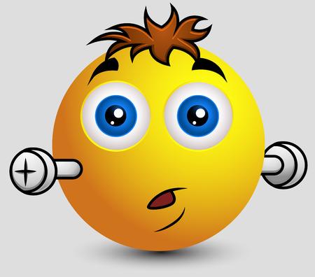 hypnotized: Surprised Cute Frankenstein Emoticon