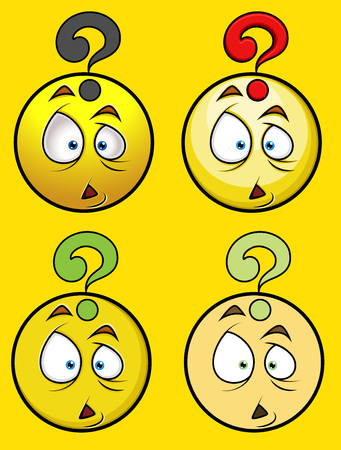 questioned: Questioned Smiley Set