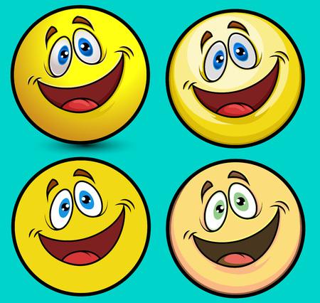 smiley: Smiley Ball Illustration