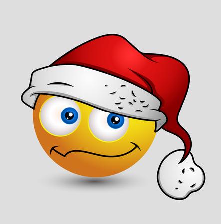 performing arts event: Cute Santa Smiley