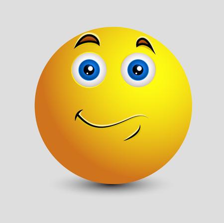 innocent: Pleasure - Smiley Character Illustration