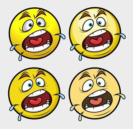 opened mouth: Shouting Emoji Smiley Emoticon Illustration