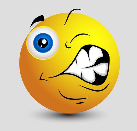 irritated: Getting Irritated Emoticon