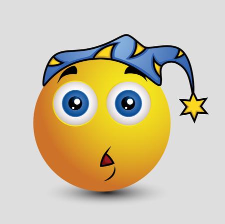 hypnotized: Scared at Night Emoji Smiley Emoticon