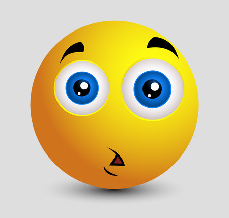 Shocked Sad Emoji Smiley Emoticon Illustration