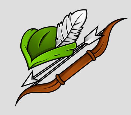 robin hood: Robin Hood Cap and Archer Accessories