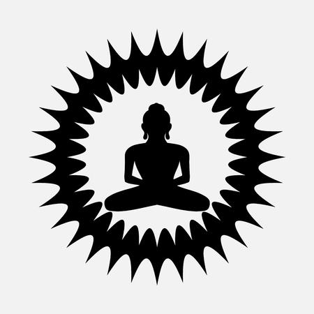 Divine Buddhist Shape Symbol