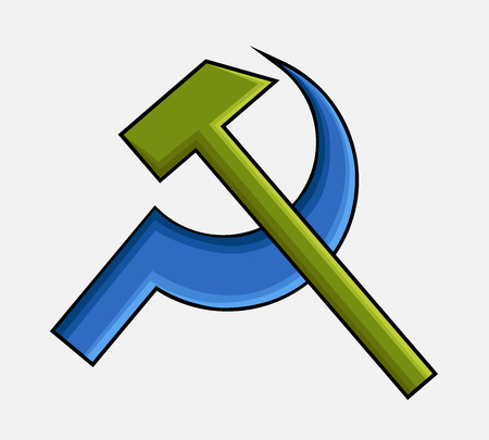 activist: Communist Icon Vector
