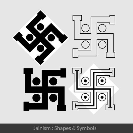 jainism: Swastik - Hindu Symbols
