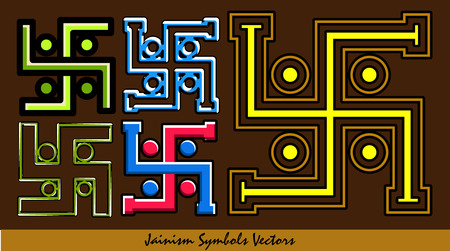 swastika: Set of Swastika Symbols Illustration
