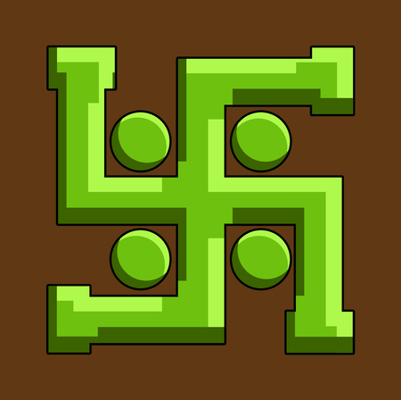Swastika Vector Symbol