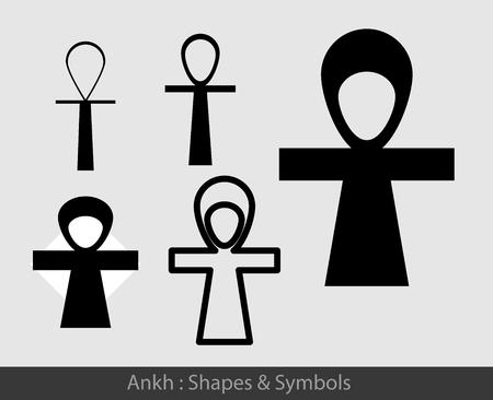 art museum: Ankh Symbols