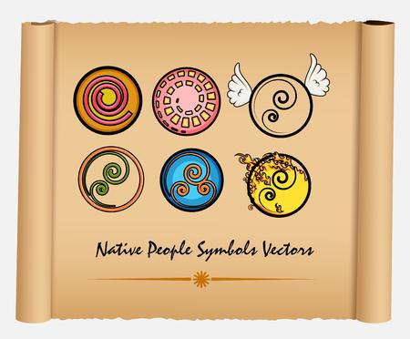 various: Various Native People Symbols