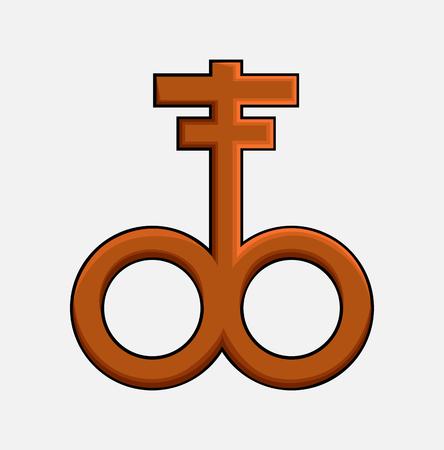 satanic: Icon of Satanic Cross