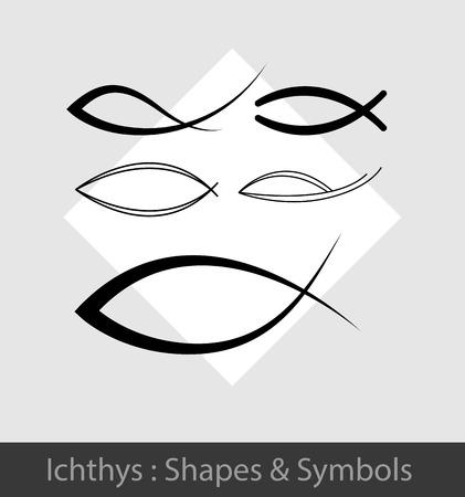 cristo: Ichthys Symbols