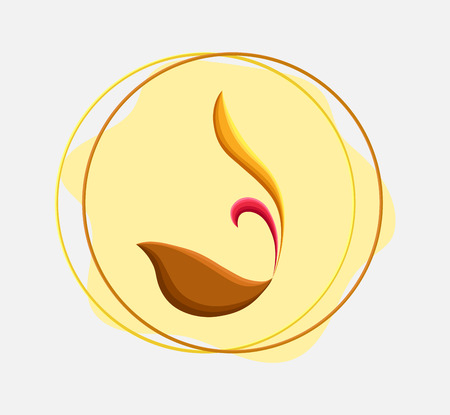 flaming: Flaming Chalice Vector Icon