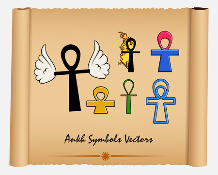 art museum: Variety of Ankh Symbols