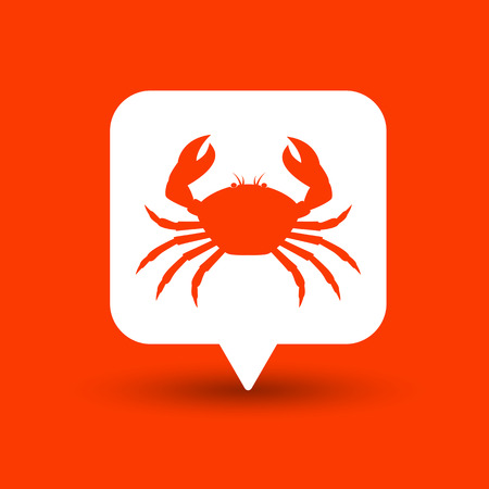 crab legs: Crab Shape Vector