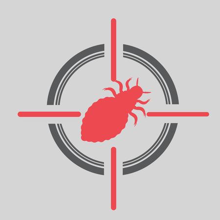 lice: Lice on Target Illustration