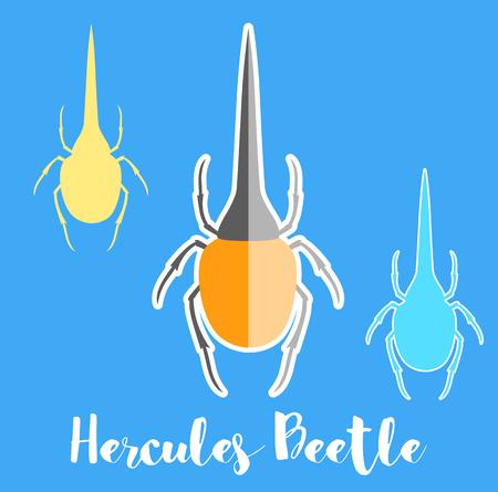 Hercules Beetle Insects Vectors