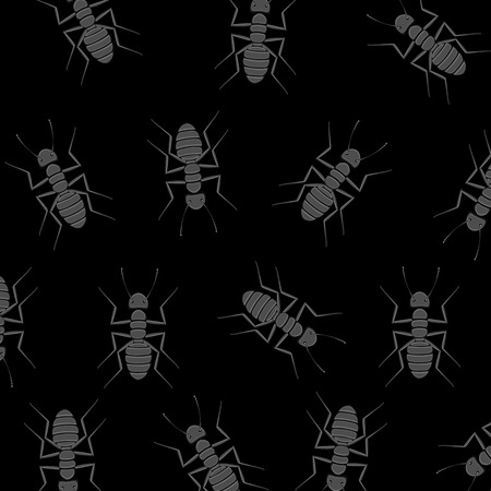 crawly: Ants Background Illustration