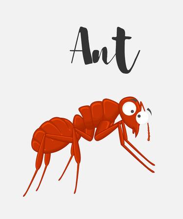 crawly: Cartoon Funny Ant