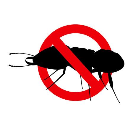 Kill Termite Insect Sign