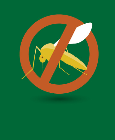 Remove Mosquito Symbol Illustration