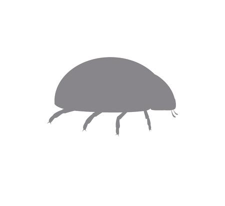 ladybug: Ladybug Silhouette Illustration