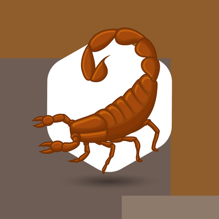 Wild Scorpion Illustration