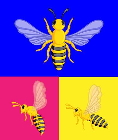 crawling creature: Wasps Vector