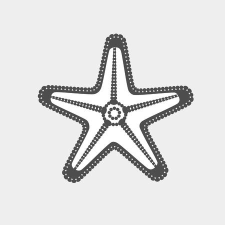 Starfish Vector Clipart Illustration