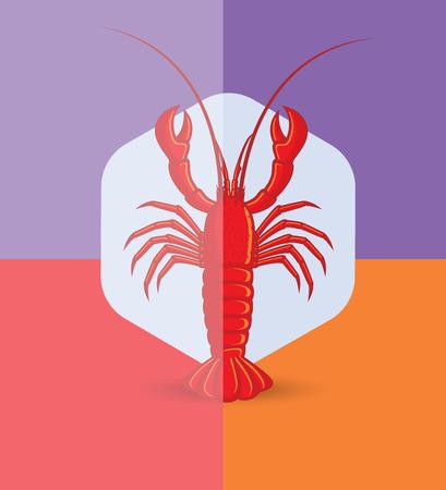 Crayfish Vector Illustration Illustration