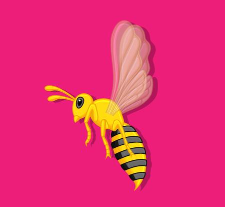 crawling creature: Wasp