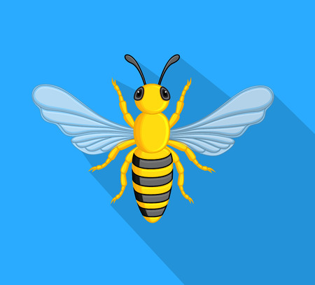 crawling creature: Honey Bee