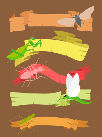 Insects Banners