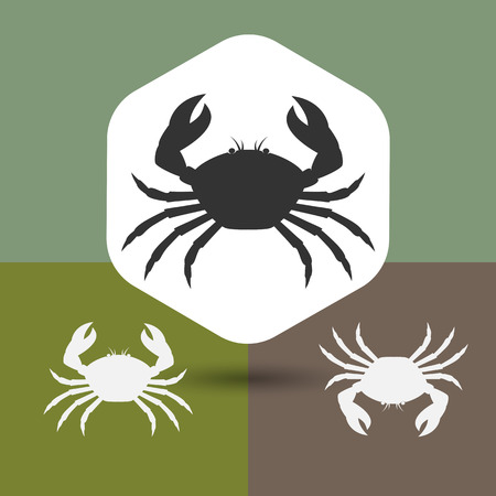 silhouettes: Crab Silhouettes