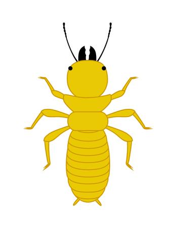 Comic Termite Insect