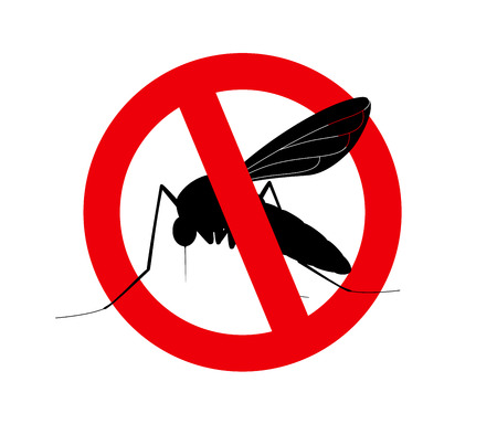 unhygienic: Kill Mosquitoes Symbol Illustration
