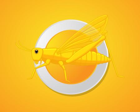chorthippus: Grasshopper Dish