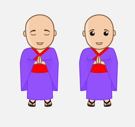 moksha: Chinese Monk Characters