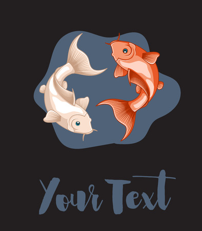 japanese koi: Japanese Koi Fishes