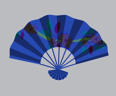 convenient: Ancient Japanese Folding Fan