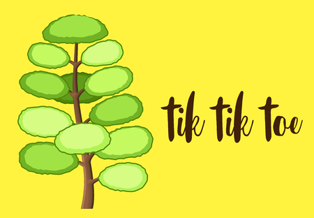 Scrapbook Tree Template