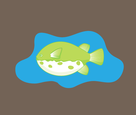 susi: Takifugu Fish  Illustration