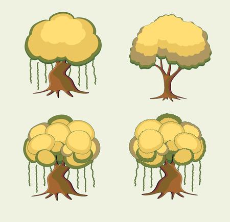 bonsai: Bonsai Trees Set